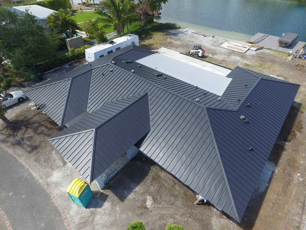 Tile To Metal Roof Pro Form Roofing Co