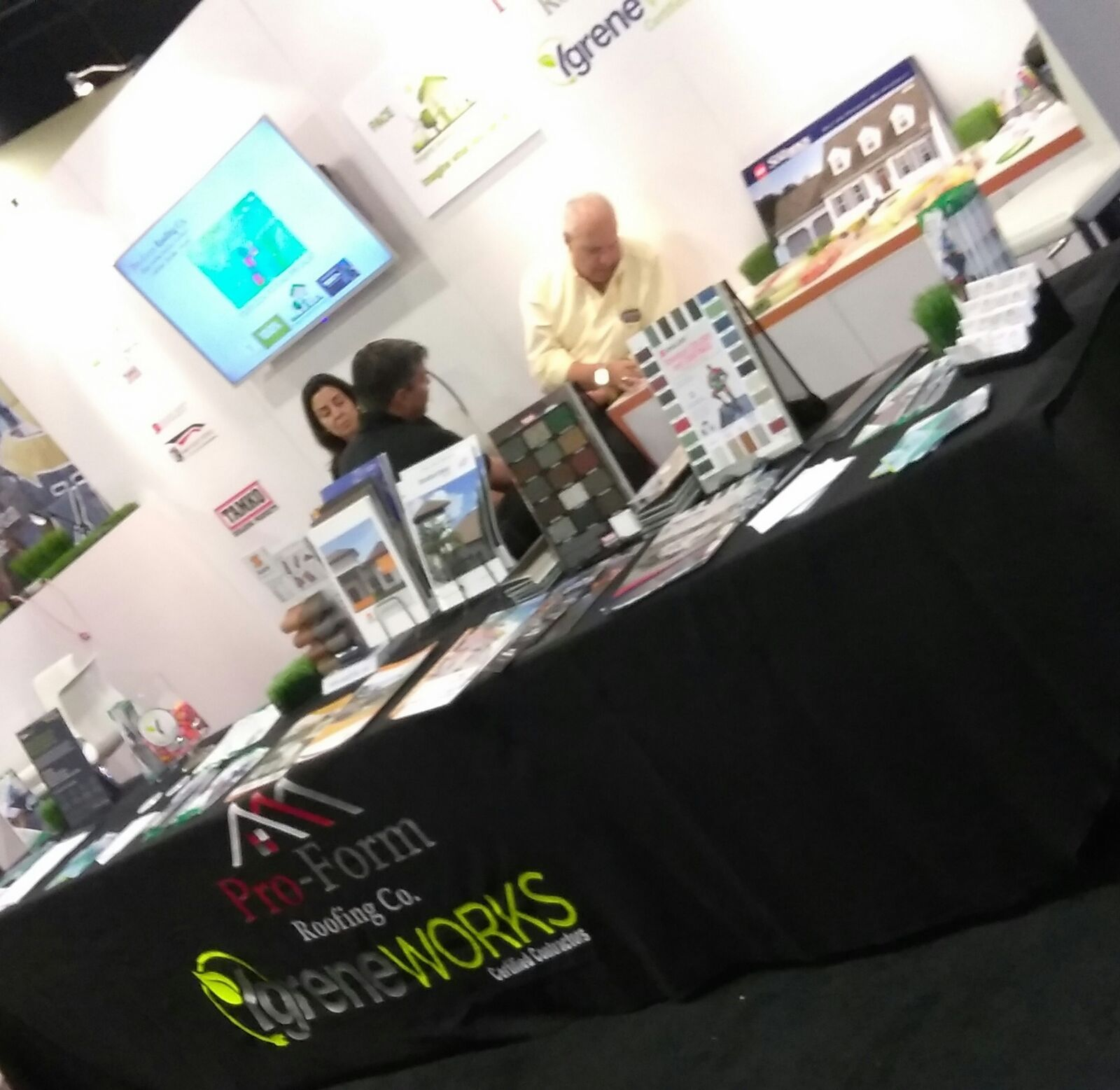 Pro Form Roofing Co Event Home Show 2017 Pro Form